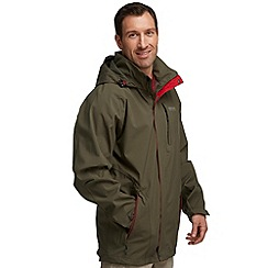 Regatta - Khaki green northfield waterproof jacket