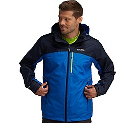 Regatta - Blue/ navy sanford waterproof jacket
