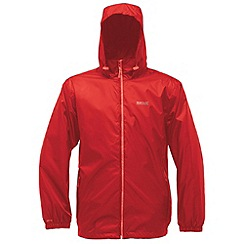 Regatta - Red lyle waterproof jacket