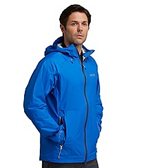 Regatta - Blue vaporspeed waterproof jacket