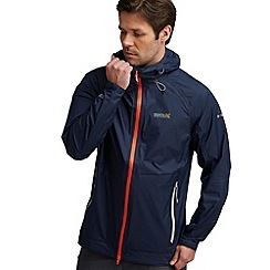 Regatta - Navy vaporspeed waterproof jacket
