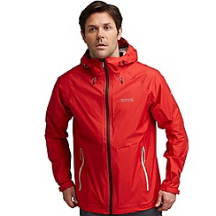 Regatta - Red vaporspeed waterproof jacket