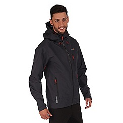 Regatta - Grey ravenscliff waterproof jacket