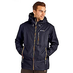 Regatta - Navy ravenscliff waterproof jacket