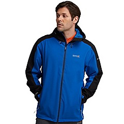 Regatta - Blue/ black topout waterproof jacket