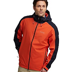 Regatta - Orange/ navy topout waterproof jacket