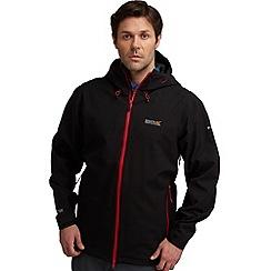 Regatta - Black/black topout waterproof jacket