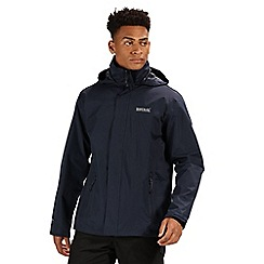 Regatta - Navy/navy matt waterproof jacket