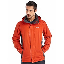 Regatta - Orange matt waterproof jacket
