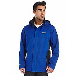 Regatta - Bright blue matt waterproof jacket