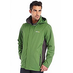 Regatta - Alpine green matt waterproof jacket