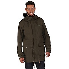 Regatta - Khaki landman waterproof jacket