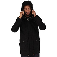 Regatta - Black landman waterproof jacket