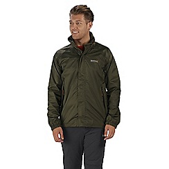 Regatta - Green magnitude waterproof jacket