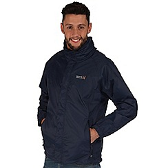 Regatta - Navy magnitude waterproof jacket
