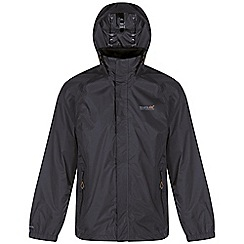 Regatta - Dark grey magnitude waterproof jacket
