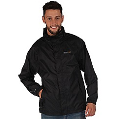 Regatta - Black magnitude waterproof jacket