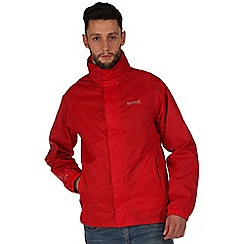 Regatta - Red magnitude waterproof jacket