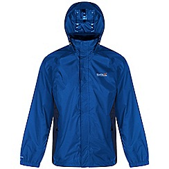 Regatta - Blue magnitude waterproof jacket