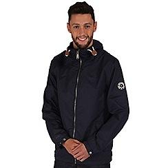 Regatta - Navy highwater rain jacket