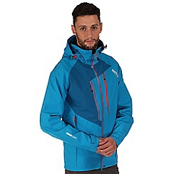 Regatta - Blue oklahoma waterproof jacket