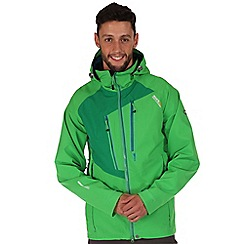 Regatta - Green oklahoma waterproof jacket