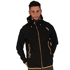 Regatta - Black imber waterproof jacket