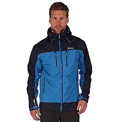 Regatta - Blue/navy calderdale waterproof jacket