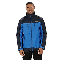 Regatta - Blue calderdale waterproof jacket