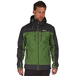 Regatta - Green/grey calderdale waterproof jacket