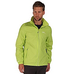 Regatta - Lime green lyle waterproof jacket