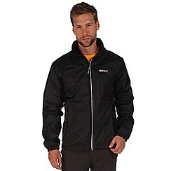 Regatta - Black lyle waterproof jacket