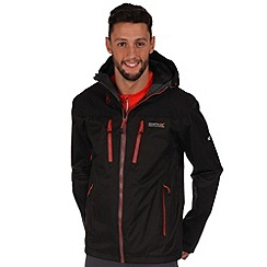 Regatta - Black cross penine waterproof jacket