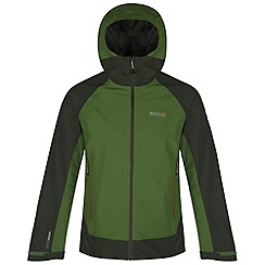Regatta - Green semita waterproof hooded jacket