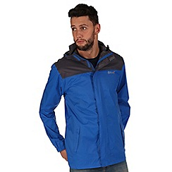 Regatta - Blue pack it waterproof jacket