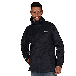 Regatta - Navy pack it waterproof jacket