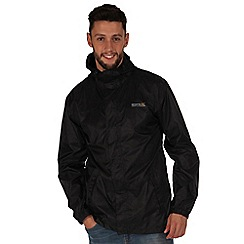 Regatta - Black pack it waterproof jacket