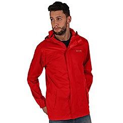 Regatta - Red Pack it waterproof jacket