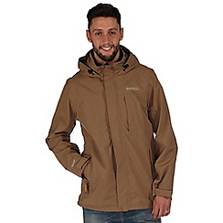 Regatta - Brown northfield waterproof jacket