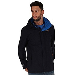 Regatta - Navy northfield waterproof jacket