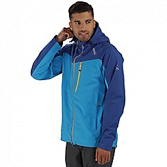 Regatta - Blue Oklahoma waterproof jacket