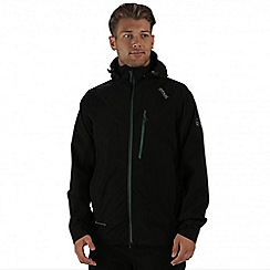 Regatta - Black Oklahoma waterproof jacket