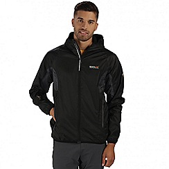 Regatta - Black Levin waterproof jacket