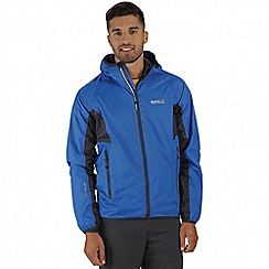 Regatta - Blue Levin waterproof jacket