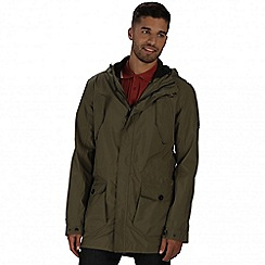 Regatta - Green mansiri waterproof jacket