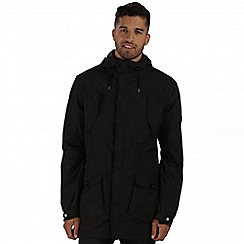 Regatta - Black mansiri waterproof jacket