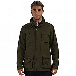 Regatta - Green elwin waterproof jacket