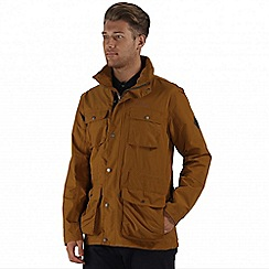 Regatta - Brown elwin waterproof jacket