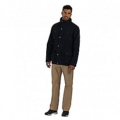 Regatta - Navy elwin waterproof jacket