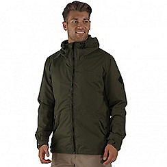 Regatta - Green harlan waterproof jacket